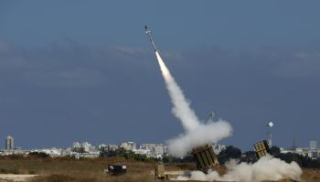 Syrian Rockets Rain Down On Israel With Iran's Help
