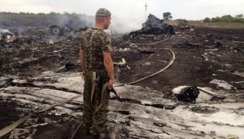 Malaysia Airlines Plane Shot Down Over Ukraine