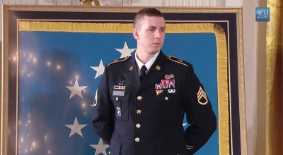 President Obama Presents the Medal of Honor to Staff Sergeant Ryan M. Pitts
