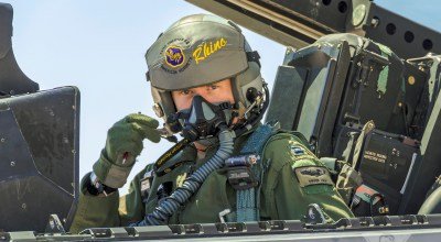 Helmet-Mounted Display For The F-22?