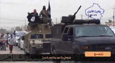 ISIS' Distributive Operations in Anbar