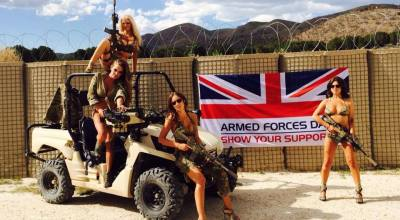 Bikinis and Green Berets: Girls Gone Wild with the Utah National Guard?