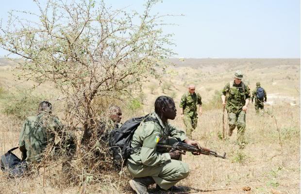 CSOR SF operator training Mali's military.