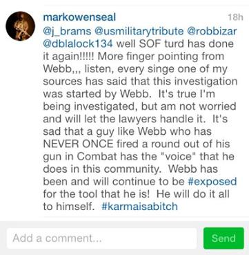 Mark Owen/Matt Bissonette Instagram