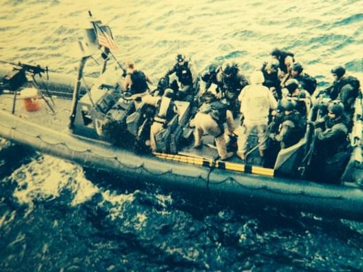 SEAL Team 3 GOLF platoon conducting VBSS training