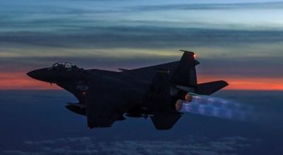 Burner Friday: Boeing F-15E Strike Eagle