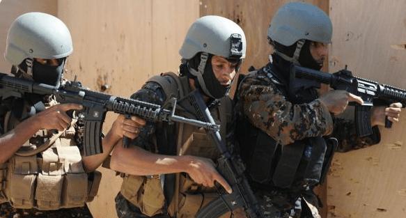 Yemeni Counter-Terrorist soldiers