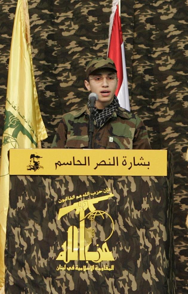 Jihad Mughniyeh at Hizballah Rally