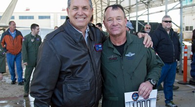 F-22 Chief Test Pilot Reaches 1,000 Flight Hours