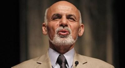 Afghan President Ashraf Ghani: Not Hamid Karzai