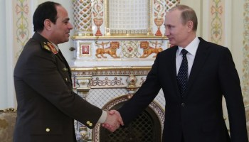 Back to the Future: Egypt and a Renewed Relationship With Russia