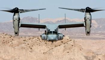 Bell-Boeing V-22 Osprey First Flight