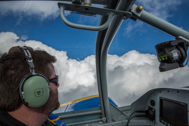 In The Cockpit With Brandon Webb From Seattle To San Diego