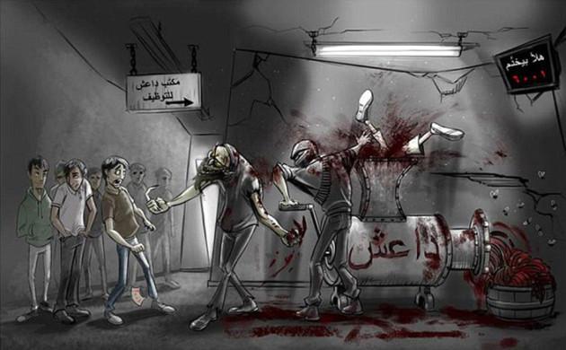 Leaflet-Daesh