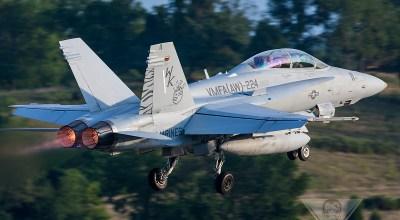 Burner Friday: VMFA(AW)-224 F/A-18D Hornet