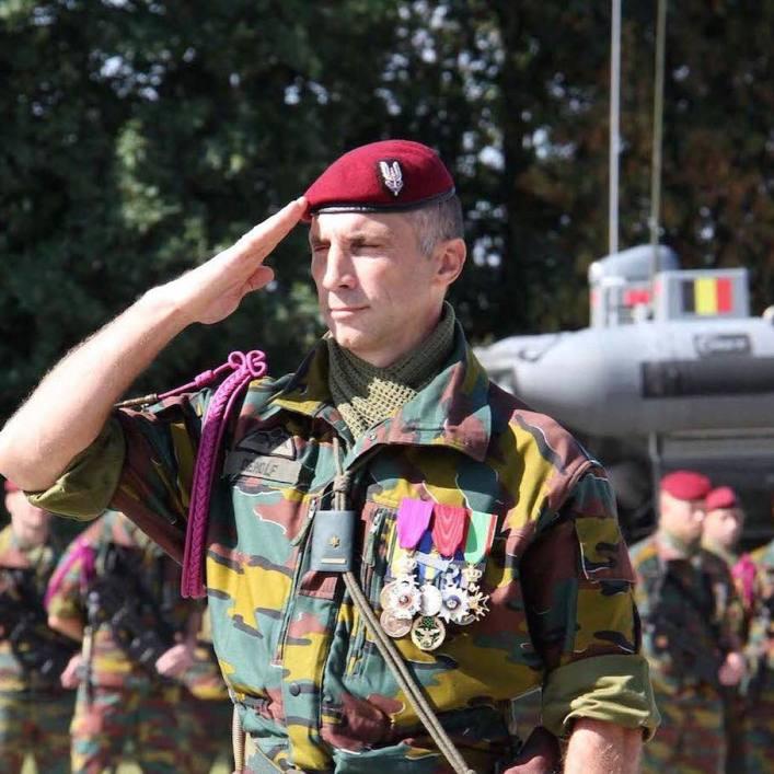 Denolf, Dutch Special Forces Group commander