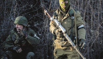 Take a Tour of Weapons on the Ukrainian Front Lines