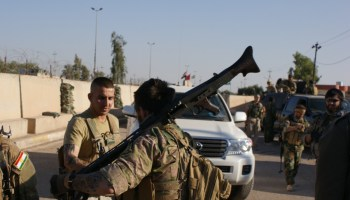 Roll Out With the Kurds and American Volunteers Fighting ISIS