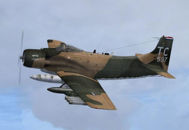 USAF-douglas-A-1H-skyraider