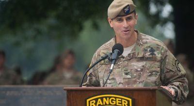 75th Ranger Regiment Commander Receives General Order of Reprimand