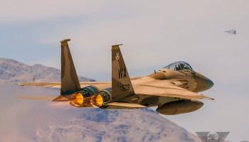Burner Friday: 65 AGRS F-15C Eagle