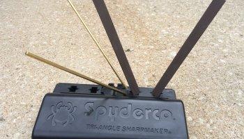 Spyderco Triangle Sharpmaker Knife Sharpener