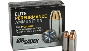 Sig Sauer Elite Performance Handgun Ammunition
