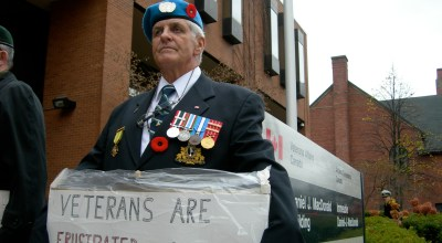 Will American Veterans Benefits Follow Way of Canada? Canadian Veterans Battle for Pension Change