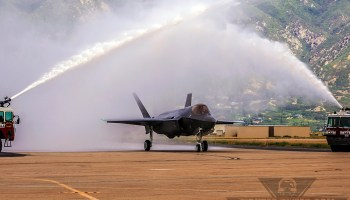 Combat-coded F-35As Arrive At Hill