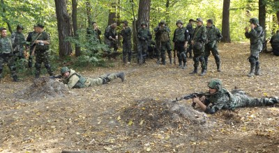 Video: Watch as American and Canadian Advisors Train Ukrainian Troops