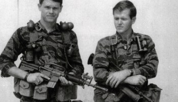 The weapons and gear Special Forces recon teams carried in the Vietnam War
