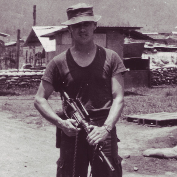 Pat Watkins, before he went to FOB 3 in Khe Sanh to become team leaders of RT Lion.