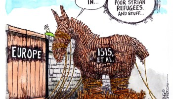 Flood of Middle East Refugees in EU Creates an ISIS, ET AL Trojan Horse