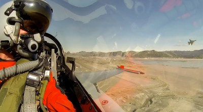 From The Cockpit: RDAF F-16s over Greenland
