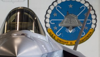 The Mighty Ike Hosts The Joint Strike Fighter!
