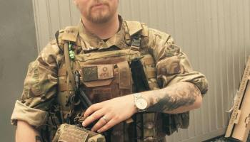 Exclusive Interview With Mikael Skillt, Ukraine's Swedish Foreign Fighter