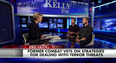 """Interview on """"The Kelly File"""" about Strategies for Dealing with Terror Threats"""