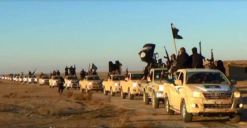 ISIS convoy