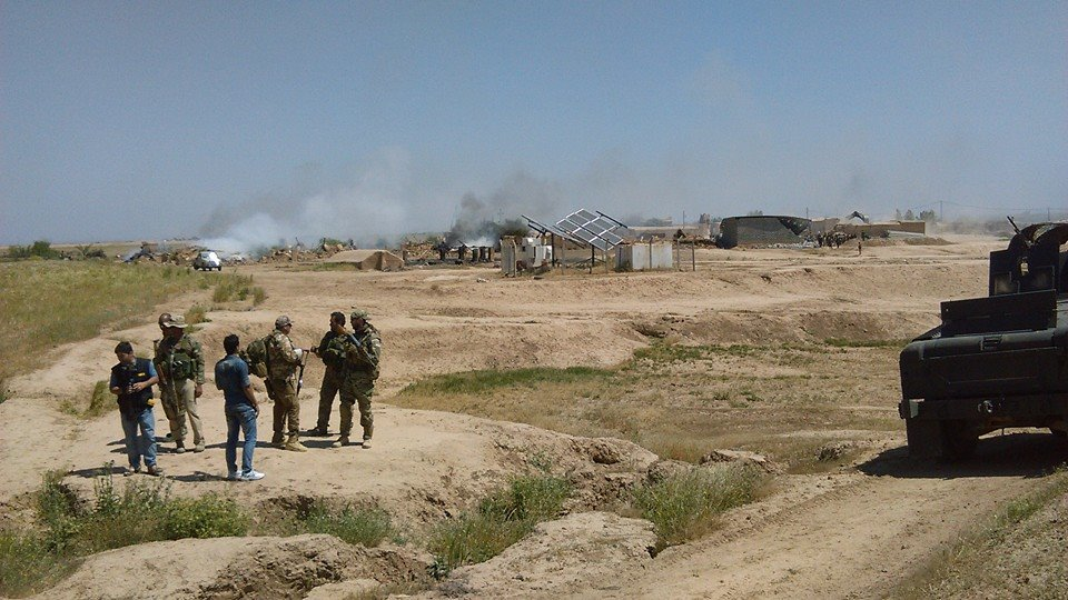 Aftermath of a Battle in April 2015