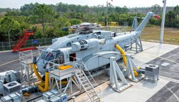 Watch Test Flight of New Largest, Heaviest Helicopter in U.S. Military