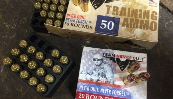 Team Never Quit Ammo Memorial Day Sale