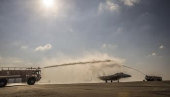 Strike Eagle WSO Passes 1,000 Combat Hours!
