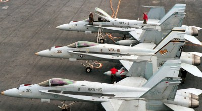 Navy To Lose Entire Carrier Air Wing in FY 2017!