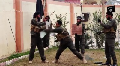 """Watch: ISIS """"Special Forces"""" try to be ninjas"""