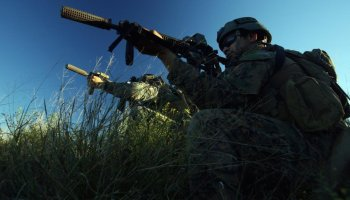 Watch as Marine Raiders participate in training exercise 'RAVEN'