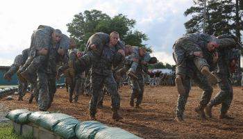 The airman who survived Ranger School