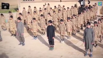 ISIS again turning to child soldiers and drug use to fill ranks