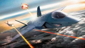 Future Fighter: Lasers and Autonomous Artificial Intelligence