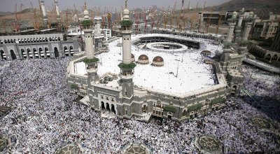 Whoever controls the Hajj controls it all