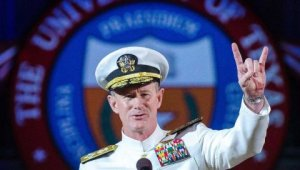 Watch: Admiral McRaven's '10 Things he learned from Navy SEAL training'